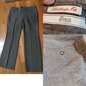 Bass Brown Tweed Pants ♥️
